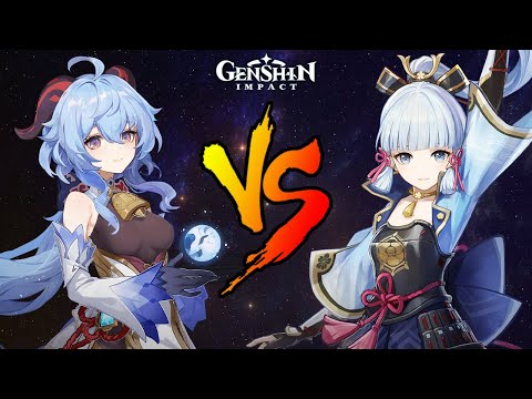 Ayaka VS Ganyu