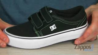 45e556fc1b1c2 Buy DC Trase V Tx Boys Shoes ADBS300312-BGN: BLACK/GREEN - Size 3M ...