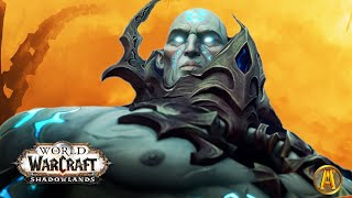 Bolvar Opens The Maw In Icecrown - All Cutscenes [World of Warcraft: Shadowlands Beta Lore]