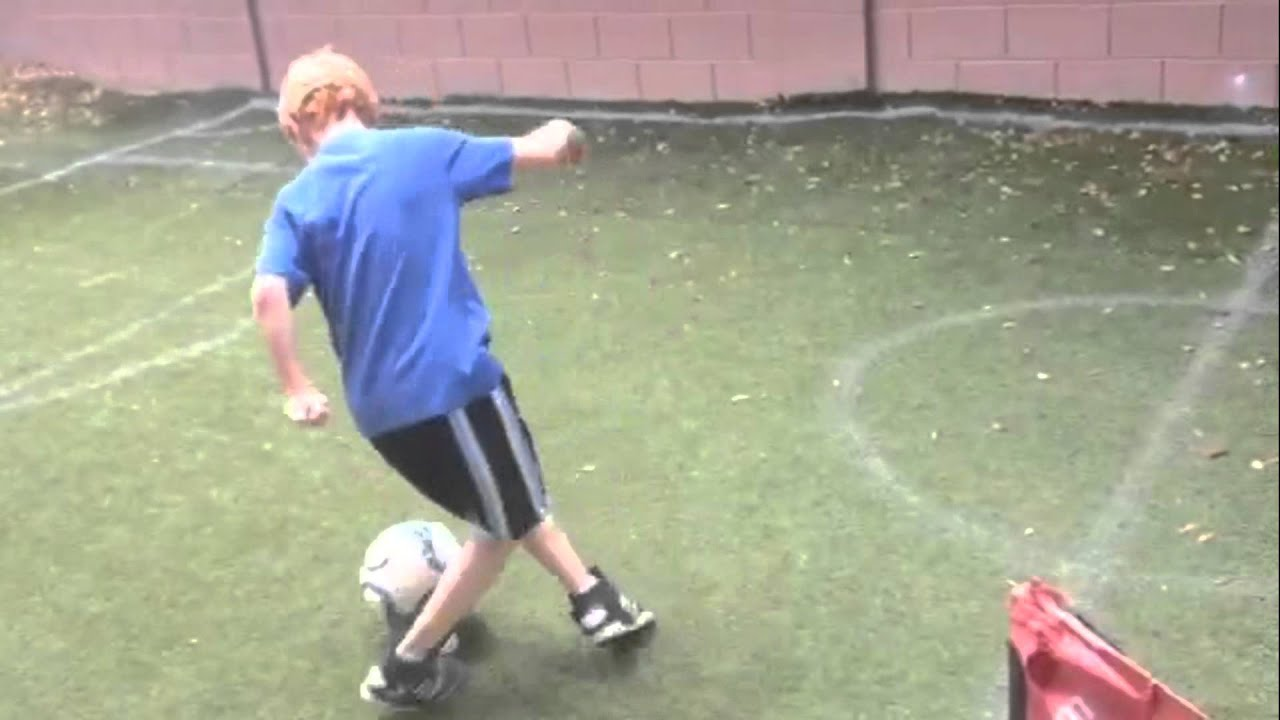 backyard soccer training youtube