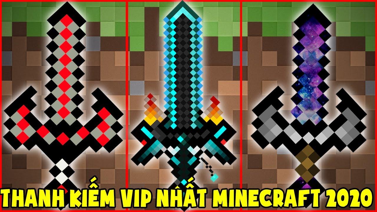Nếu Noob Sở Hữu Thanh Kiếm Vip Nhất Minecraft 2020 ** T Gaming Thử Thách Chế Tạo Thanh Kiếm Mới Vip