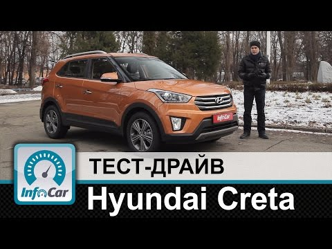 Hyundai Creta - тест-драйв InfoCar.ua (Крета)