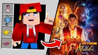 Minecraft Adventure - HOW TO BECOME ALADDIN!!
