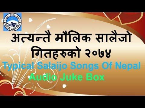 अत्यन्तै मौलिक सालैजो गितहरुको २०७४ | Typical Nepali salaijo Songs 2074