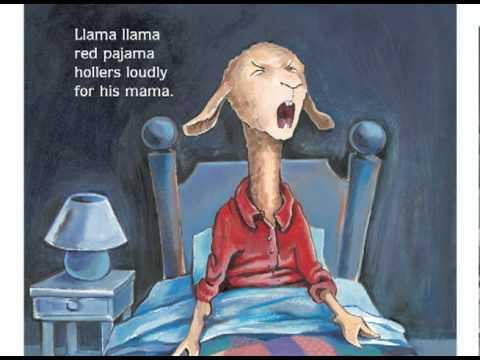 Llama Llama Red Pajama read by author Anna Dewdney