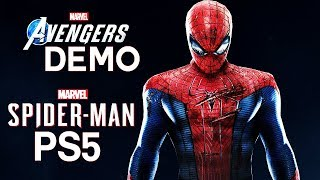 Spider-Man PS5 & Avengers PS4 DEMO | PS5's BIG Threat To Avengers PS4