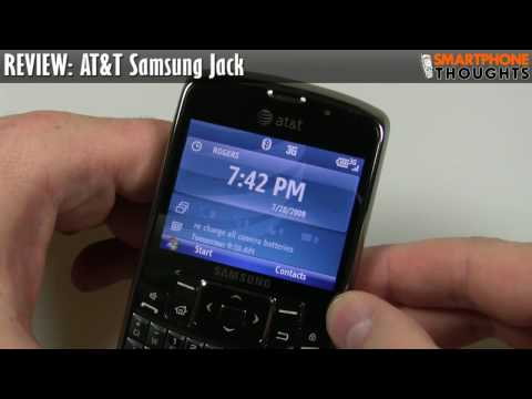 REVIEW: AT&T Samsung Jack i637
