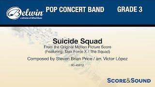 Suicide Squad, arr. Victor López – Score & Sound