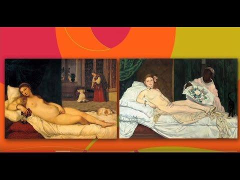 Olympia de Manet et la Vénus d'Urbin du Titien