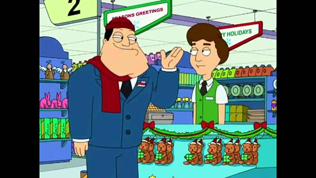 american dad happy holidays i said merry christmas - American Dad Christmas Episode
