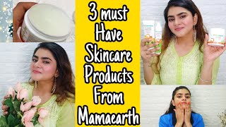 MAMAEARTH VITAMIN C FACE WASH,DAY CREAM & SLEEPING MASK | MAMAEARTH PRODUCTS REVIEW | RIA DAS