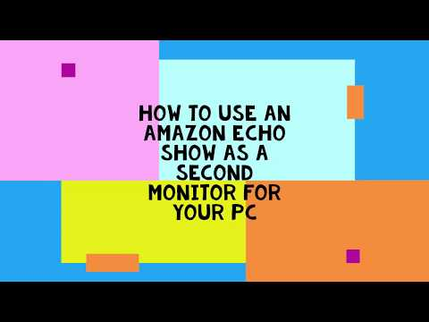 How To Use Amazon Echo Show As A Second Monitor For Your PC