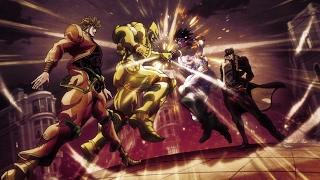 jotaro kujo vs dio brando full fight full hd jojo s bizarre adventures stardust crusaders