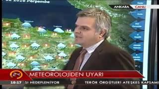 Meteoroloji Uyardı! İstanbul Ve Ankara'da Kar Fırtınası Bekleniyor!