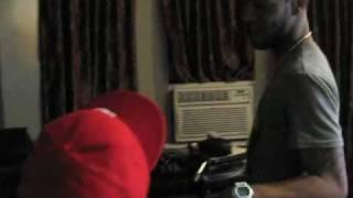 Dot Da Genius in the Studio with Kid Cudi