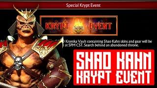 Mortal Kombat 11 - Shao Kahn Krypt Event This Thursday 5 pm CST