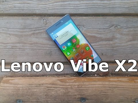 Lenovo Vibe X2 Hands on Review [Greek]