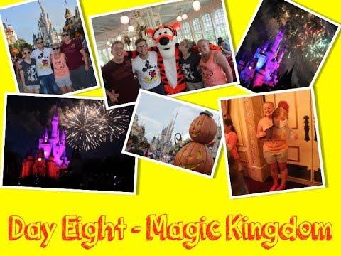 Walt Disney World & Orlando Vacation | 2016 | Day Eight | Magic Kingdom