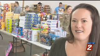 Toys For Tots Collecting Donations