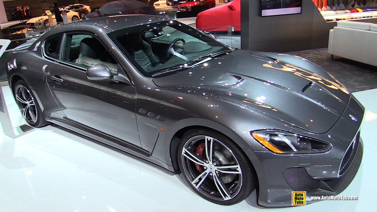 2016 Maserati Granturismo Mc Exterior And Interior Walkaround Chicago Auto Show