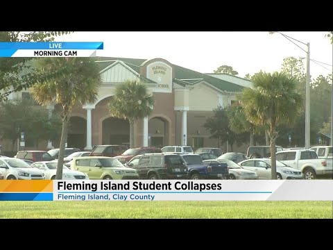 Fleming island high school student collapses