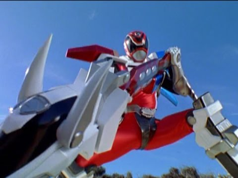 "Power Rangers S.P.D. - Red Ranger Battlizer Morph and Fight | ""Reflection Part 1"" Episode"