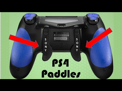 how to add paddles to ps4 controller