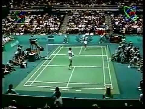 1996 Atlanta Olympic Badminton MS Final Poul Erik Layer Vs Dong Jiong