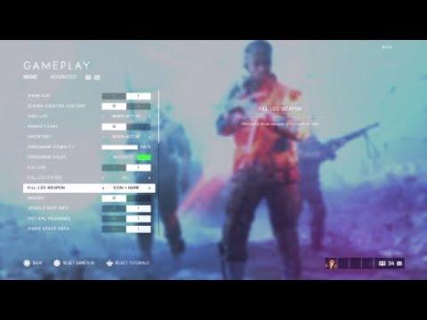 BFV   best PlayStation settings for BFV