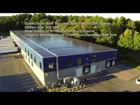 EnterSolar Photovoltaic System - Stewart's Shops