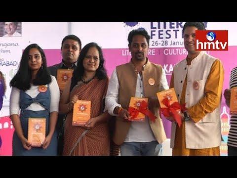 Vitamin G Book Launch | Author Prashant Jain | Hyderabad Literary Festival 2018 | hmtv News