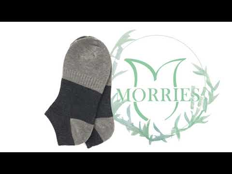 MORRIES莫利仕-竹碳奈米SPA抗菌船型襪-LV122(MIT.微笑標章.男女適用)