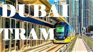 Dubai Tram Ride From Dubai Media City Tram Station To Dubai Marina   United Arab Emirates  2019
