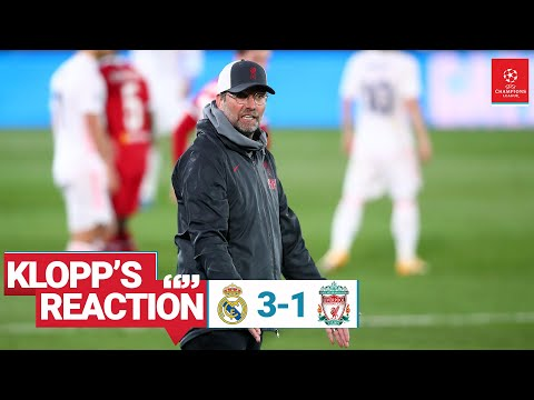 Klopp's reaction: 'The only good news is there's another game' | Real Madrid vs Liverpool