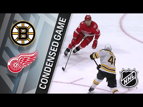 02/06/18 Condensed Game: Bruins @ Red Wings