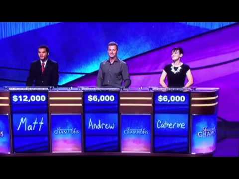 Enthusiastic Musical Theater Lover on Jeopardy