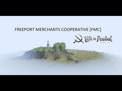 Vision of FreePort Merchant Cooperative - life is feudal mmo [server 18]