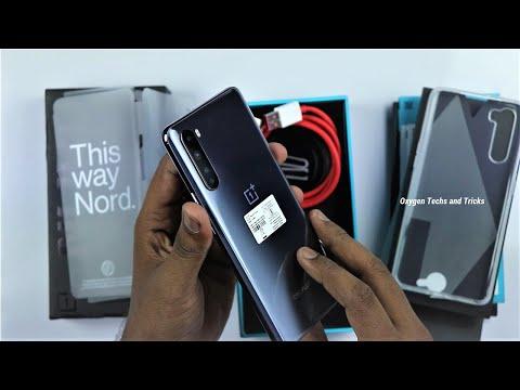 OnePlus Nord 5G (12GB RAM + 256GB ROM Gray Onyx varient) Unboxing