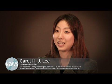 Carol Lee - Attitudes toward Euthanasia in New Zealand