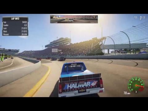 NASCAR Heat 2 - Alexi Pena Career Mode -2021 Alpha Energy Solutions 250 On FS1