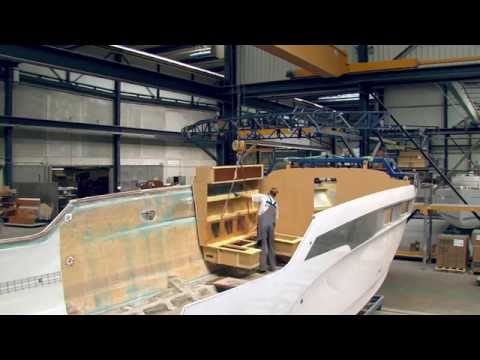 BAVARIA - NEW YARD VIDEO - MOTORBOATS - German language