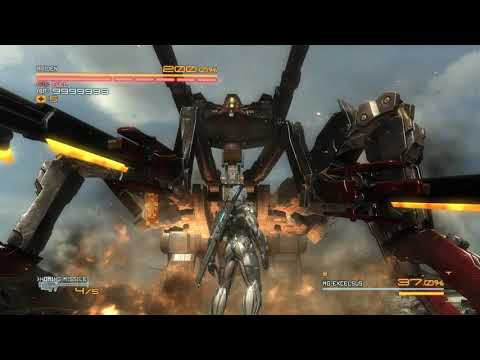 Metal Gear Rising  Revengeance MG Excelsus No Damage |