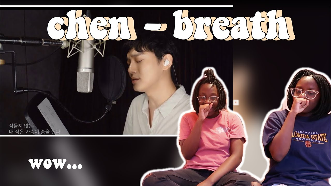 he's back 🥺 Cover by CHEN - '숨' (박효신) | REACTION (king only behavior)