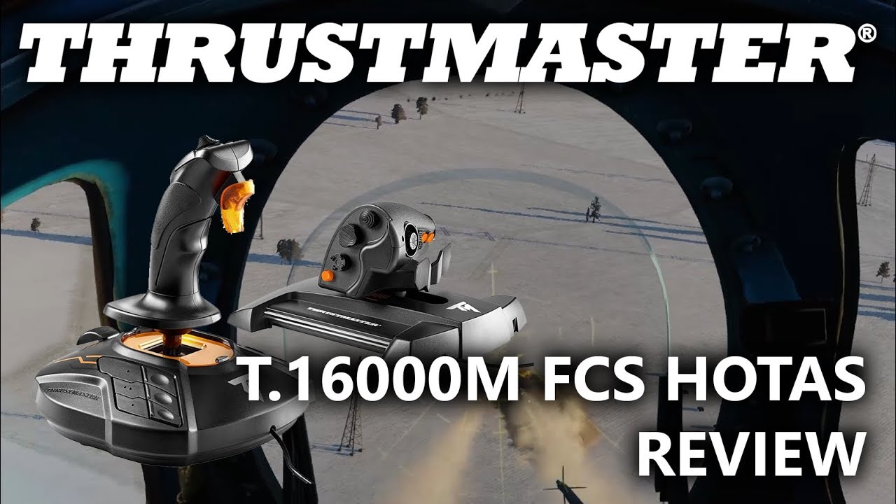 Thrustmaster T 16000M FCS HOTAS Review - ED Forums