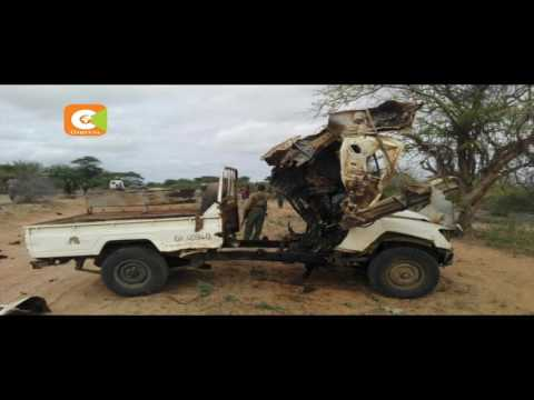 Maofisa watano wa polisi walipuliwa Garissa