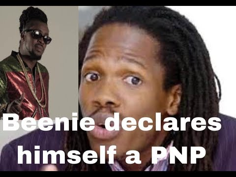 Damion Crawford presented as PNP candidate for East Portland - BEENIE MAN DECLARES HIS HAND AS A PNP