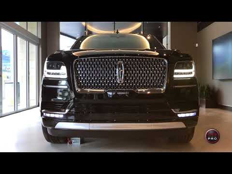 2018 Lincoln Navigator Black Label L 'Destination' First Look