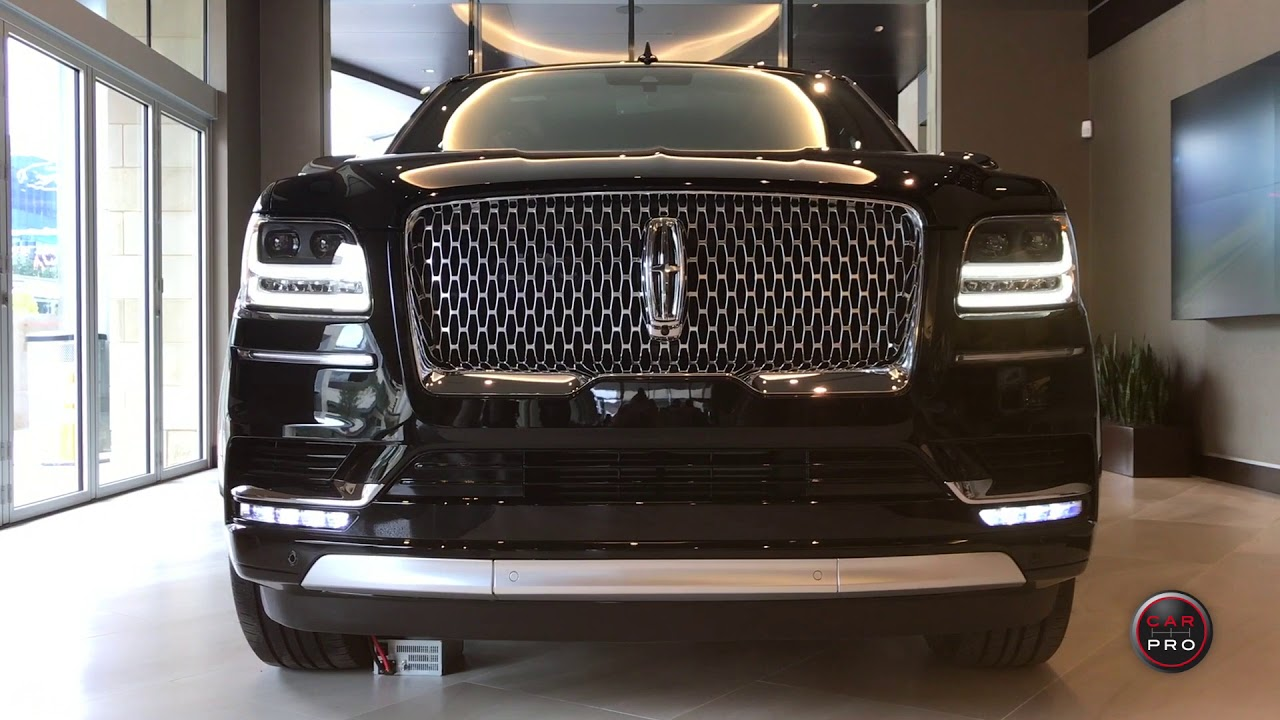 2018 Lincoln Navigator Black Label L Destination First Look Youtube