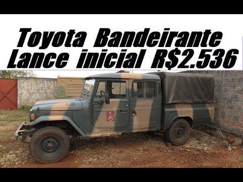 Leilão do Exército Brasileiro Carros e Caminhões Tração 4x4 e 6x6