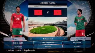 Pro Evolution Soccer 2016 - Kits - Morocco